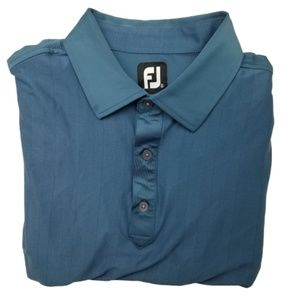 Footjoy Blue Golf Polo Shirt XL
